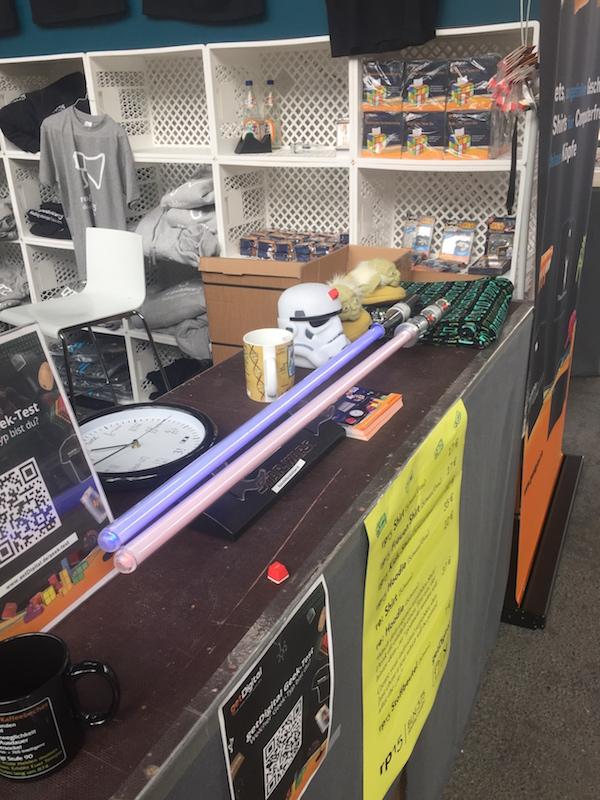 Laserschwerter