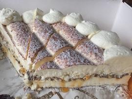 Baiser-Sahne-Torte